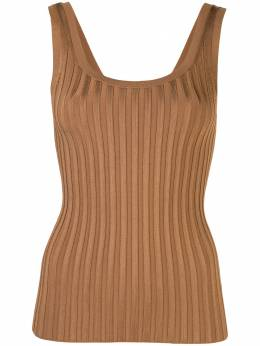 Veronica Beard ribbed vest top 1906KN4499296