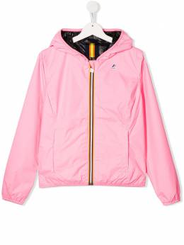 K Way Kids TEEN reversible rain jacket K002EJ0