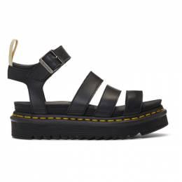 Dr. Martens Black Vegan Blaire Sandals R23806001