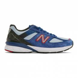 New Balance Blue US Made 990v5 Sneakers M990NC5