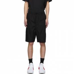 Y-3 Black Travel Shorts FS3345