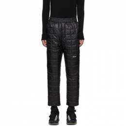 Ambush Black Quilted Lounge Pants 12112051
