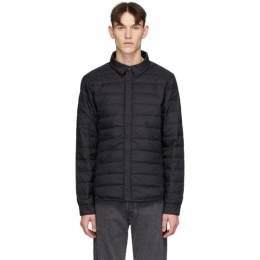 Canada Goose Black Down Jackson Shirt Jacket 2218MB
