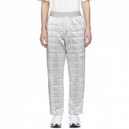 Ambush Silver Quilted Lounge Pants 12112052