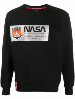 Alpha Industries толстовка с принтом NASA 126331