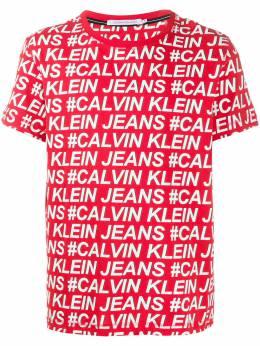 Calvin Klein Jeans all over logo print T-shirt J30J315010