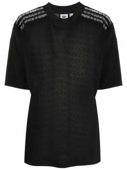Adidas lace-back T-shirt FM1737