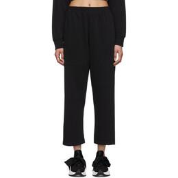 Mm6 Maison Margiela Black Straight Lounge Pants S32KA0619 S25454