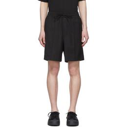 Y-3 Black Wool Classic Shorts FS3316