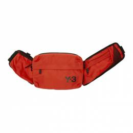 Y-3 Red Sling Bag FT9870