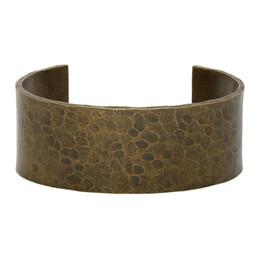 Saint Laurent Bronze Martele Bracelet 609820Y1500