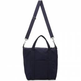 Maison Margiela Navy Shopper Tote S55WC0059 P0054
