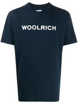 Woolrich cotton logo print T-shirt CFWOTE0024MRUT1486