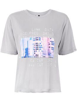 Unravel Project футболка с принтом UWAA016R20JER0060537