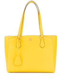 Tory Burch сумка-тоут с металлическим логотипом 54146
