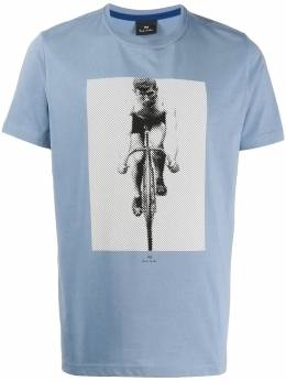 Ps by Paul Smith cycle-print crew neck T-shirt M2R010RAP1891