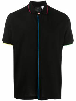 Ps by Paul Smith contrast-trim polo shirt M2R841TTD20069
