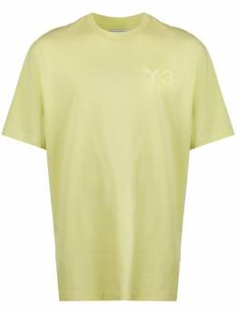 Y-3 crew neck chest logo T-shirt FR9504