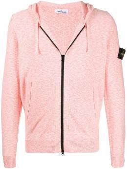 Stone Island contrast zip hoodie MO7215530B0