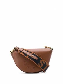 Stella McCartney полукруглая сумка Stella Logo 700083W8542