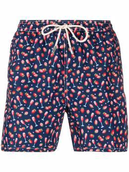 Mc2 Saint Barth berry & champagne swimming trunks LIGHTINGMICROFANTASY