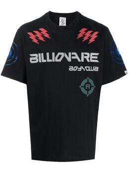 Billionaire Boys Club short sleeve logo print T-shirt B20168