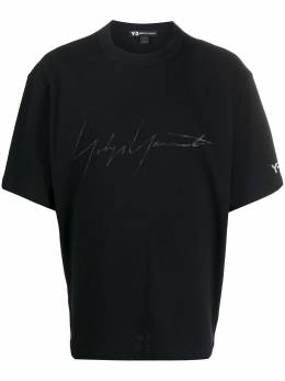 Y-3 футболка с принтом FQ4114