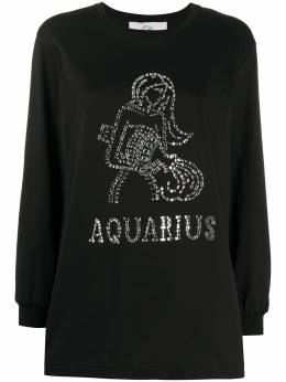 Alberta Ferretti Aquarius crystal embellished T-shirt J12010172