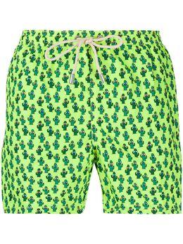 Mc2 Saint Barth cactus print swimming trunks LIGHTINGMICROFANTASY