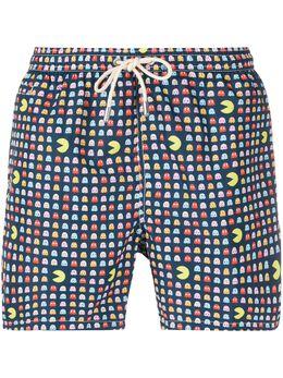 Mc2 Saint Barth Pacmen print swimming trunks LIGHTINGMICROFANTASY