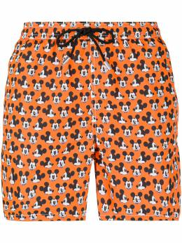 Mc2 Saint Barth Mickey Mouse print swimming trunks LIGHTINGMICROFANTASY