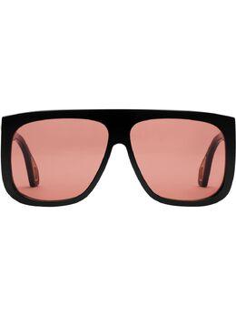 Gucci Eyewear солнцезащитные очки в квадратной оправе 558245J1691