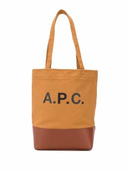 A.P.C. Axelle panelled tote bag COEBAF61389