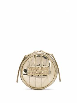 Versace Jeans Couture quilted round coin-purse E3VVBPQB71419