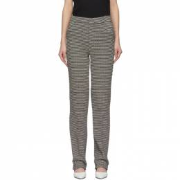 Toteme Black and White Troia Trousers 202-201-718