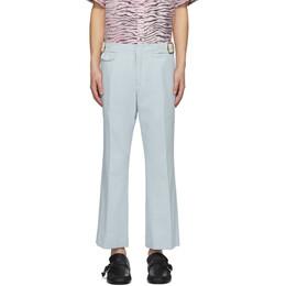 Sies Marjan Blue Crepe Vice Trousers M7PZ613-56590