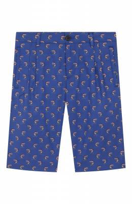 Хлопковые шорты Dolce&Gabbana L42Q65/HS5G3/8-14