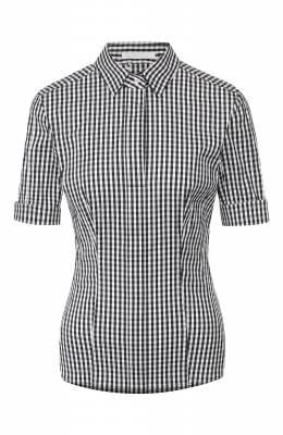 Хлопковая блузка Boss by Hugo Boss 50426781