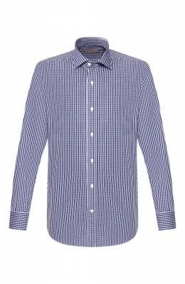 Хлопковая рубашка Luciano Barbera 105489/72701