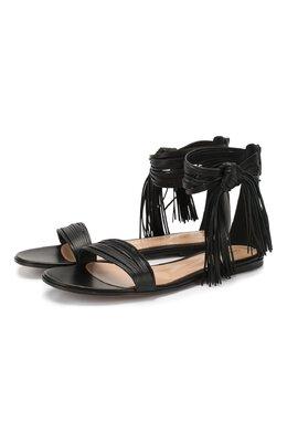 Кожаные сандалии Noelle Gianvito Rossi G61557.05CU0.NAPNER0