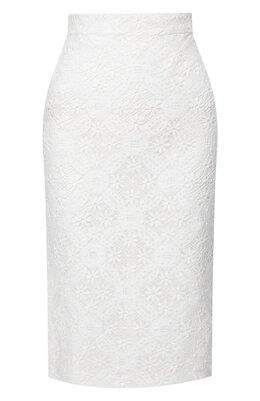 Хлопковая юбка Alexander McQueen 620470/QEABP