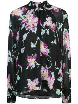 A.L.C. блузка с цветочным принтом 5TOPS00698