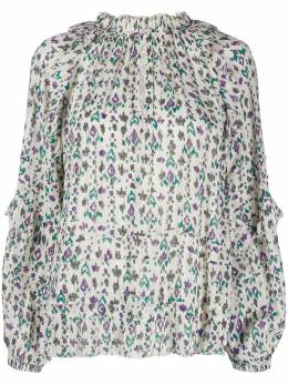 Isabel Marant Etoile блузка Fidaje с геометричным принтом 20PHT170320P040E