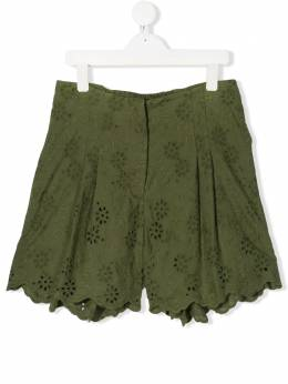 Monnalisa шорты с английской вышивкой 4954015013