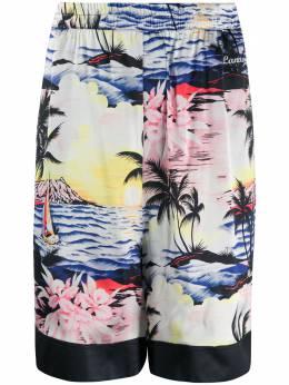 Laneus tropical print shorts 4789