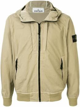 Stone Island куртка Twill-TC с капюшоном 721540426