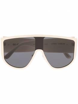 Linda Farrow солнцезащитные очки-авиаторы ATTICO1C3SUN