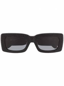 Linda Farrow солнцезащитные очки в декорированной квадратной оправе ATTICO6C1SUN