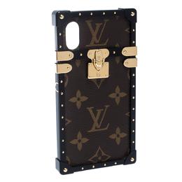 Louis Vuitton Monogram Canvas Eye Trunk iPhone X/XS Case 274724