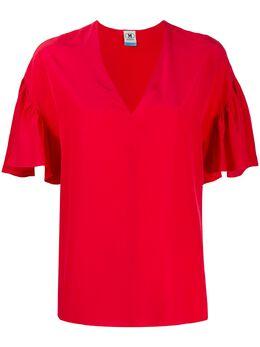 M Missoni блузка со сборками на рукавах 2DJ000742W0010